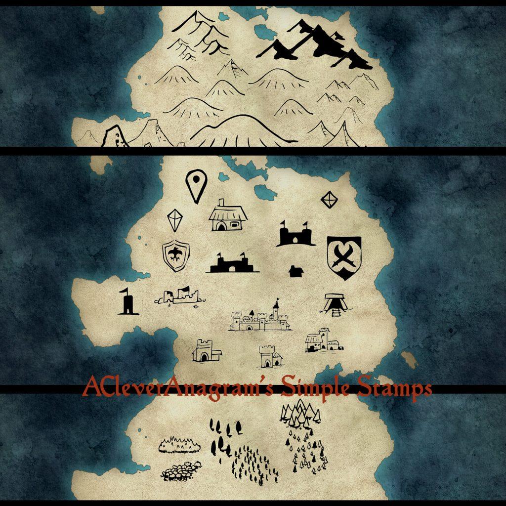 Fantasy Map Design by David Chapman ~ Fantasy Map Design